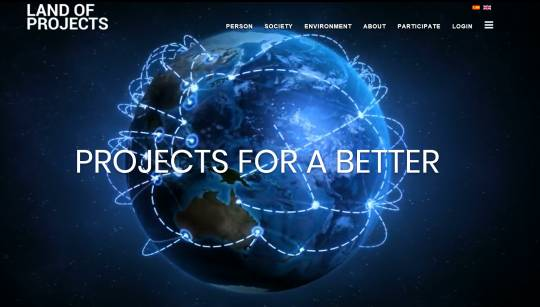 LANDOFPROJECTS NEW LOOK&FEEL